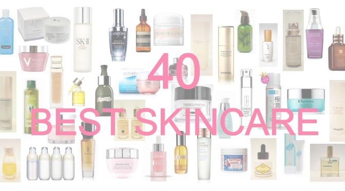 40 best skincare for all time