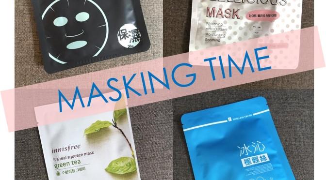 Mask Time มาส์กชีทน่าลองของวีกนี้